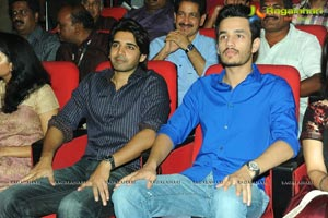 Akkineni Family at Greekuveerudu Audio
