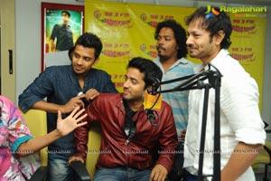 Intinta Annamayya Team @ Radio Mirchi