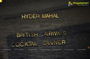 British Airways Cocktail Dinner
