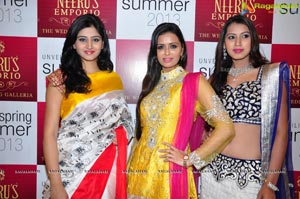 Neeru's Spring-Summer 2013 Collection