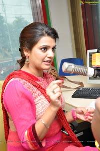 Tashu Kaushik at Mirchi Studios