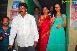 Balakrishna Nagarjuna Voting