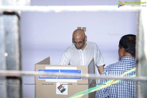 ESL Narasimhan Voting Photos