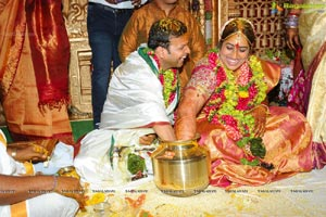 Kavitha's Second Daughter Sravanthi Wedding