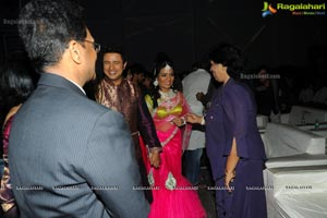 Hero Raja Wedding Reception
