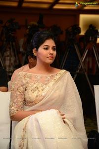 Anjali in White Saree