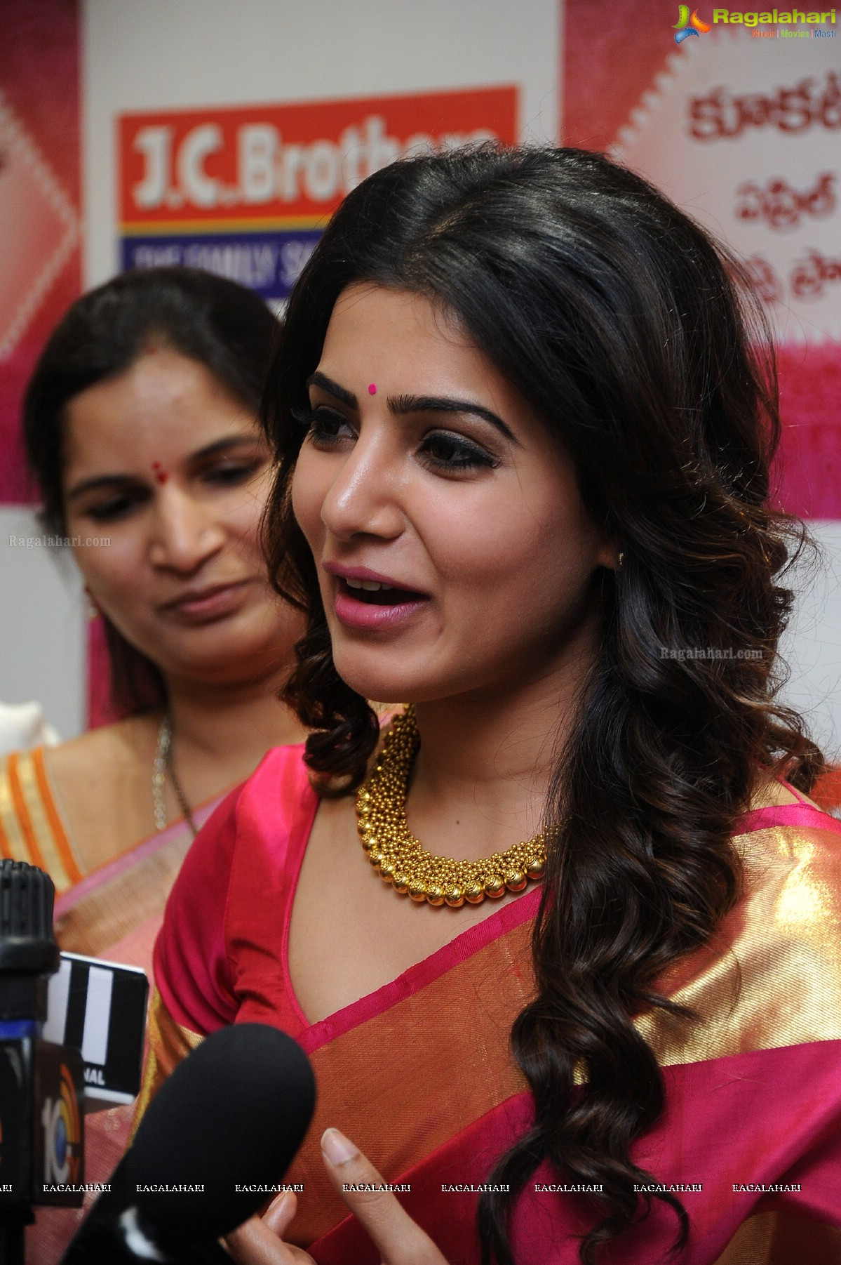 Samantha at JC Brothers Shopping Mall Launch