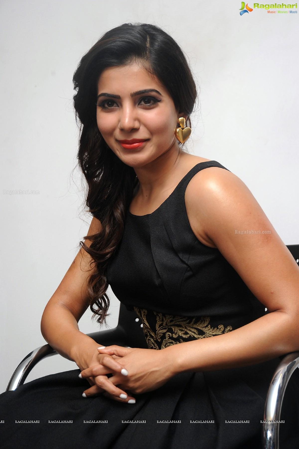 Samantha at Son of Satyamurthy Interview