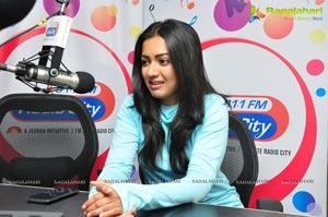 Catherine Tresa Radio City Hyderabad