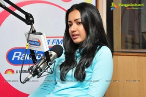 Catherine Tresa Radio City Hyderabad