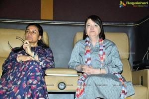 Katherine zHadda, Namrata Watch Short Films at AMB