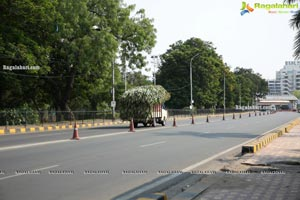 Hyderabad Lockdown Deserted Roads