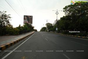 Hyderabad Lockdown Deserted Roads