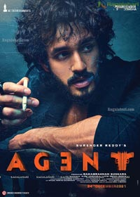Akhil Akkineni Agent Movie First Look Poster Design