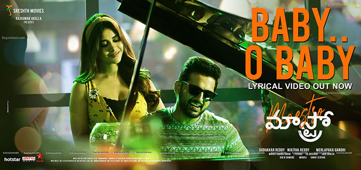 Maestro Movie Baby O Baby Lyrical Video Out Poster