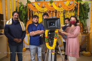 Agent Movie Pooja Ceremony