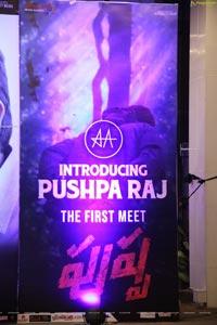 Introducing Pushpa Raj - The First Meet