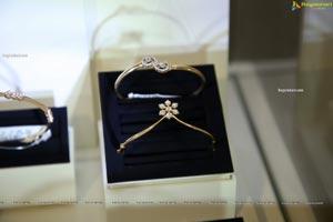 Diamond bangles at the PMJ store