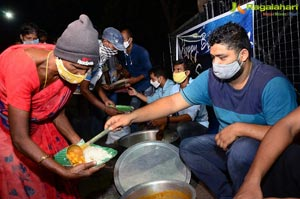 Samantha Die Hard Fan Served Food To Poor People