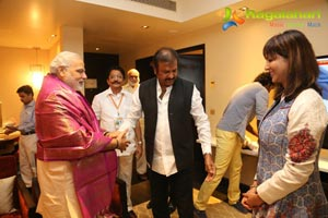 Manchu Family with Modi