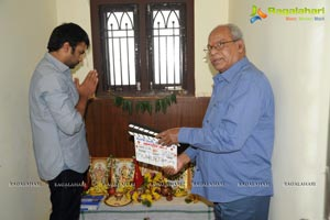 Nara Rohith Movie Mills and Cinema 5 Production No. 1 Muhurat