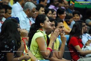 Celebs at Indian Badminton League 2013
