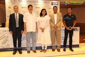 The Freedom Ride 2013 Press Meet