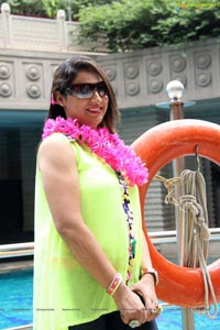 Neon Get Together Theme Brunch Party