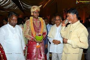 Balakrishna Daughter Tejaswini Sribharat Wedding