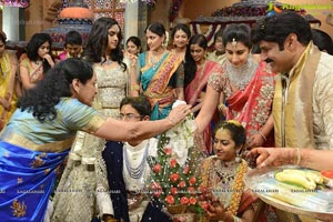 Balakrishna Daughter Tejeswini Wedding Photos