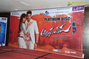 Alludu Seenu Platinum Disc
