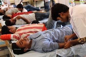 Bhavan's Vivekananda College Blood Donation Camp