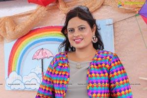 Sawaan with Rainbow Colours