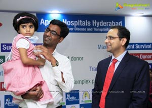 Upasana at Apollo Liver Transplantation Success Meet