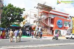 Nara Rohith Santos Llub F5 Restaurant in Vijayawada