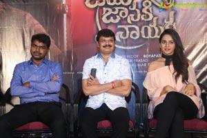 Jaya Janaki Nayaka Success Meet