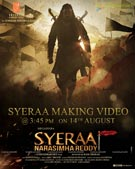 Sye Raa Narasimha Reddy making Video launch Poster