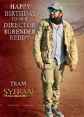Director Surender Reddy Birthday wishes Sye Raa Narasimha Reddy Poster