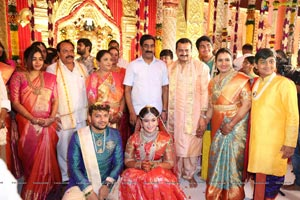 Bandla Ganesh Brother's Daughter Ashritha-Sai Pavan Wedding