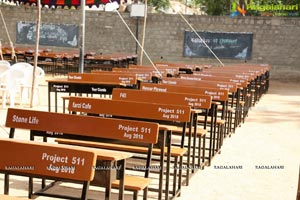 Project 511 25,000 benches