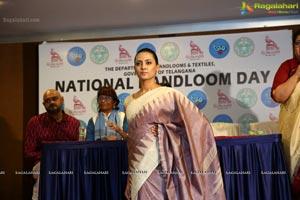 National Handloom Day 2018 Press Meet