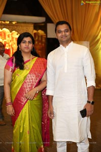 Raj Arun-Animisha Wedding Ceremony at JRC
