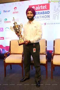 9th Airtel Hyderabad Marathon 2019 Press Conference