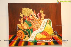 Lord Ganesha Paintings Exhibition