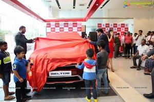 KIA Unveils KIA Seltos at at Kia Automotive at Kondapur