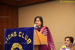 Lions Club of Hyderabad Petals 12th Installation