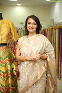 Amala Akkineni Launches Trisvaraa Sarang Boutique