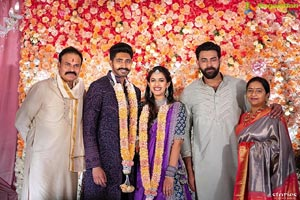 Niharika Konidela and Chaitanya Jonnalagadda's Engagement