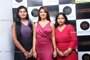 Purples Makeup Studio Launch