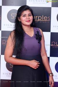 Purples Makeup Studio Launch